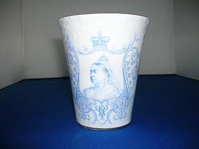 1897 Crown Derby Beaker - very rare.