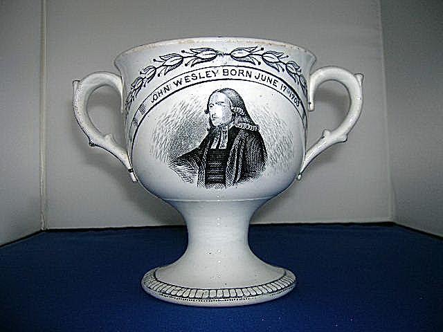 Rare Wesley Kingswood School Loving Cup.
