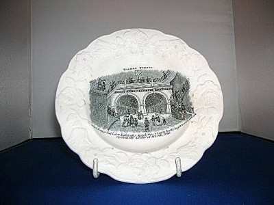 1843 Thames Tunnel Plate.