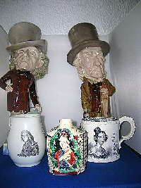 Susan offers Commemorative Ceramics c.1680 - 1880.