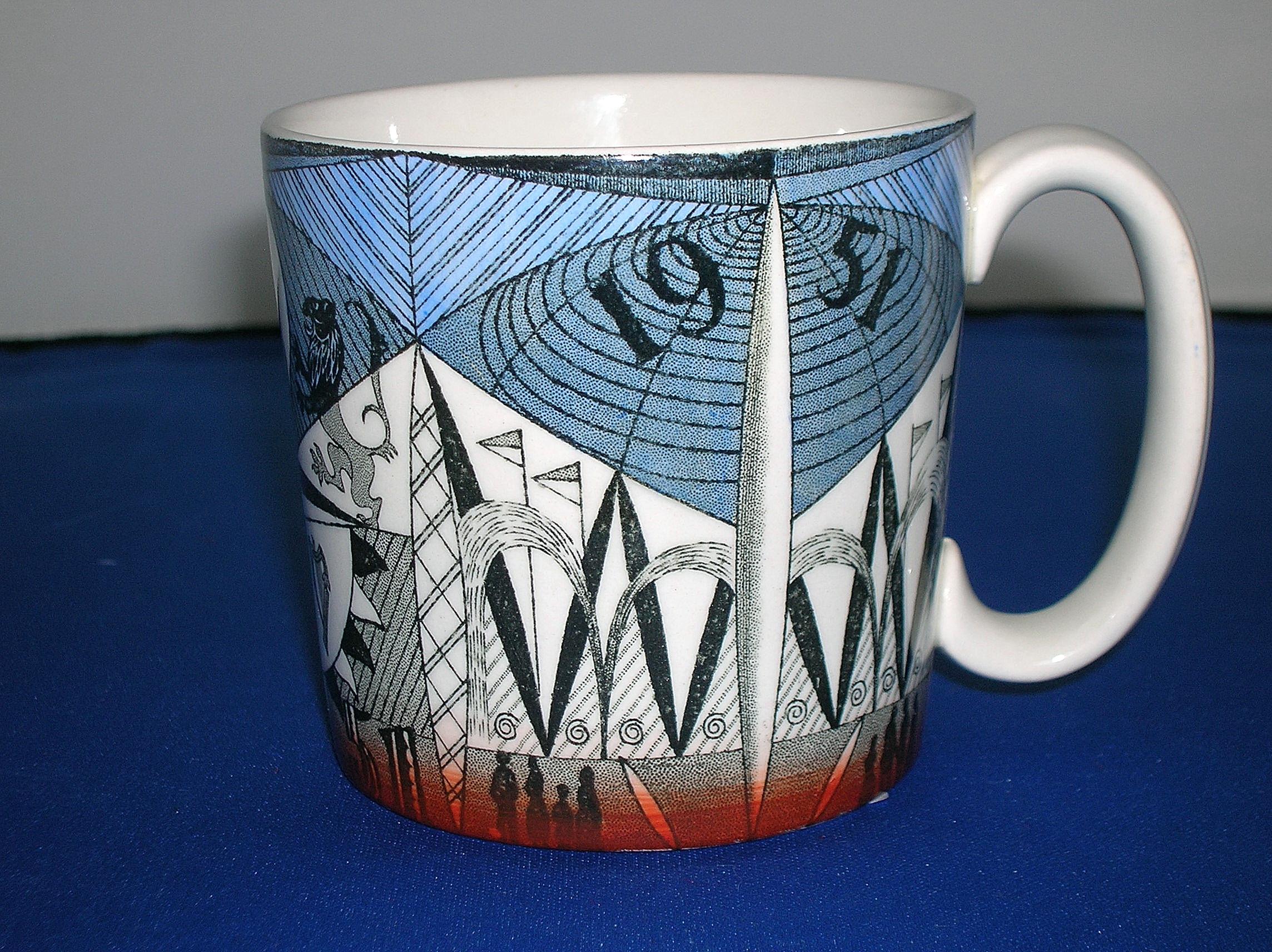 1951 Wedgwood Festival of Britain Mug.